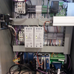 Controller panel wiring