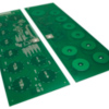 Capacitive touch-sense printed circuit board